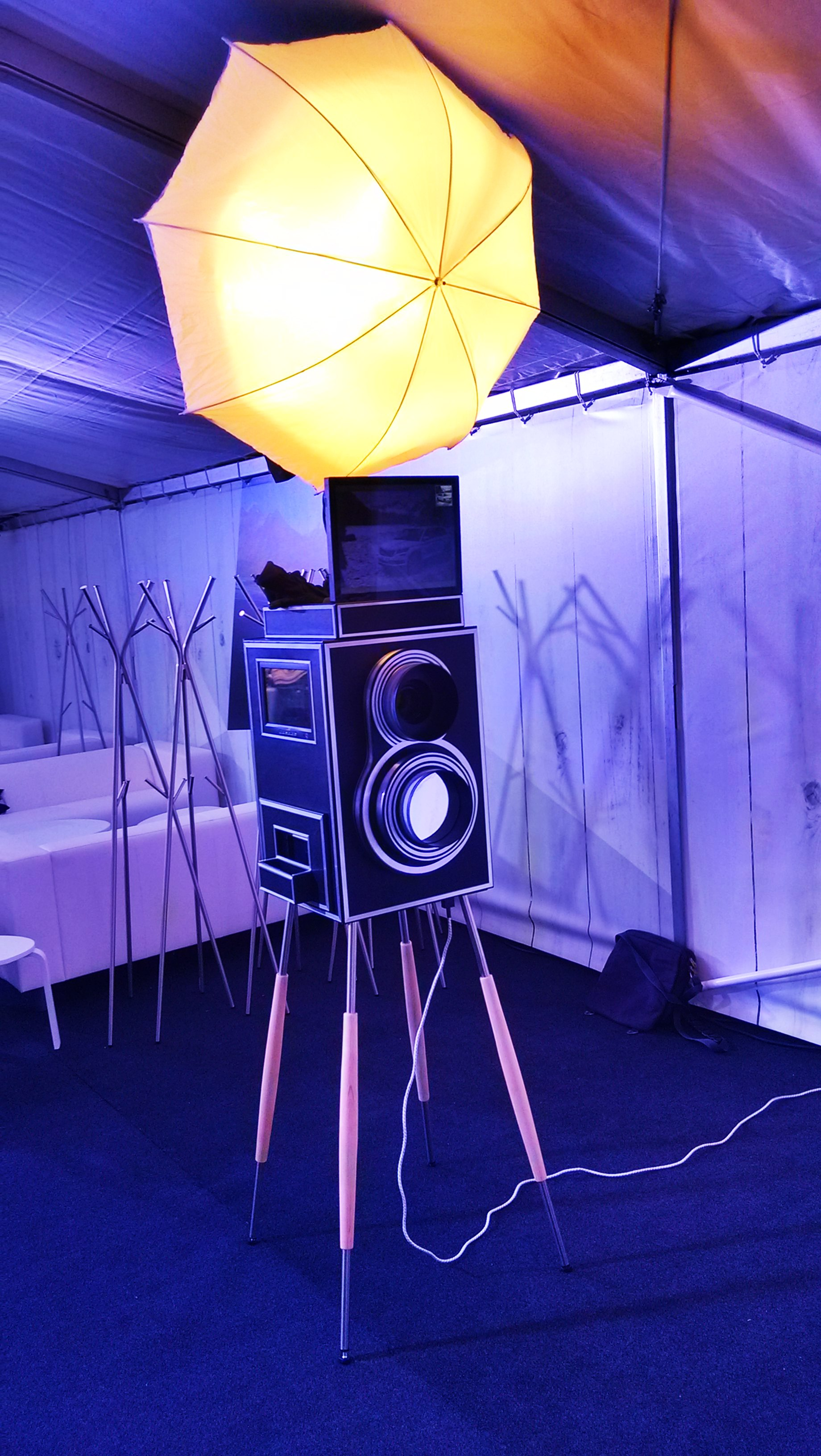 Mobilní fotokiosek Quixaret od Event Interactive