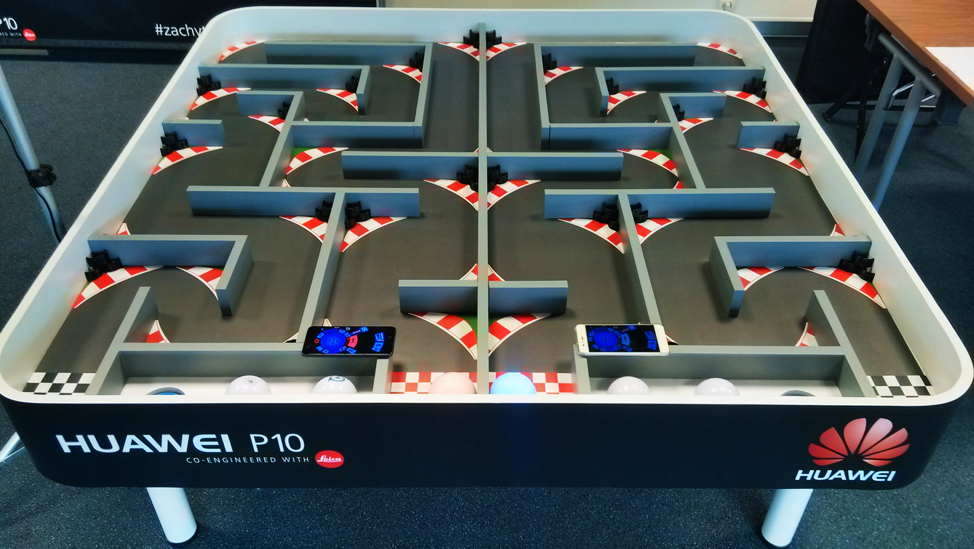 Magic ball - inteligentní robotická koule od Event Interactive