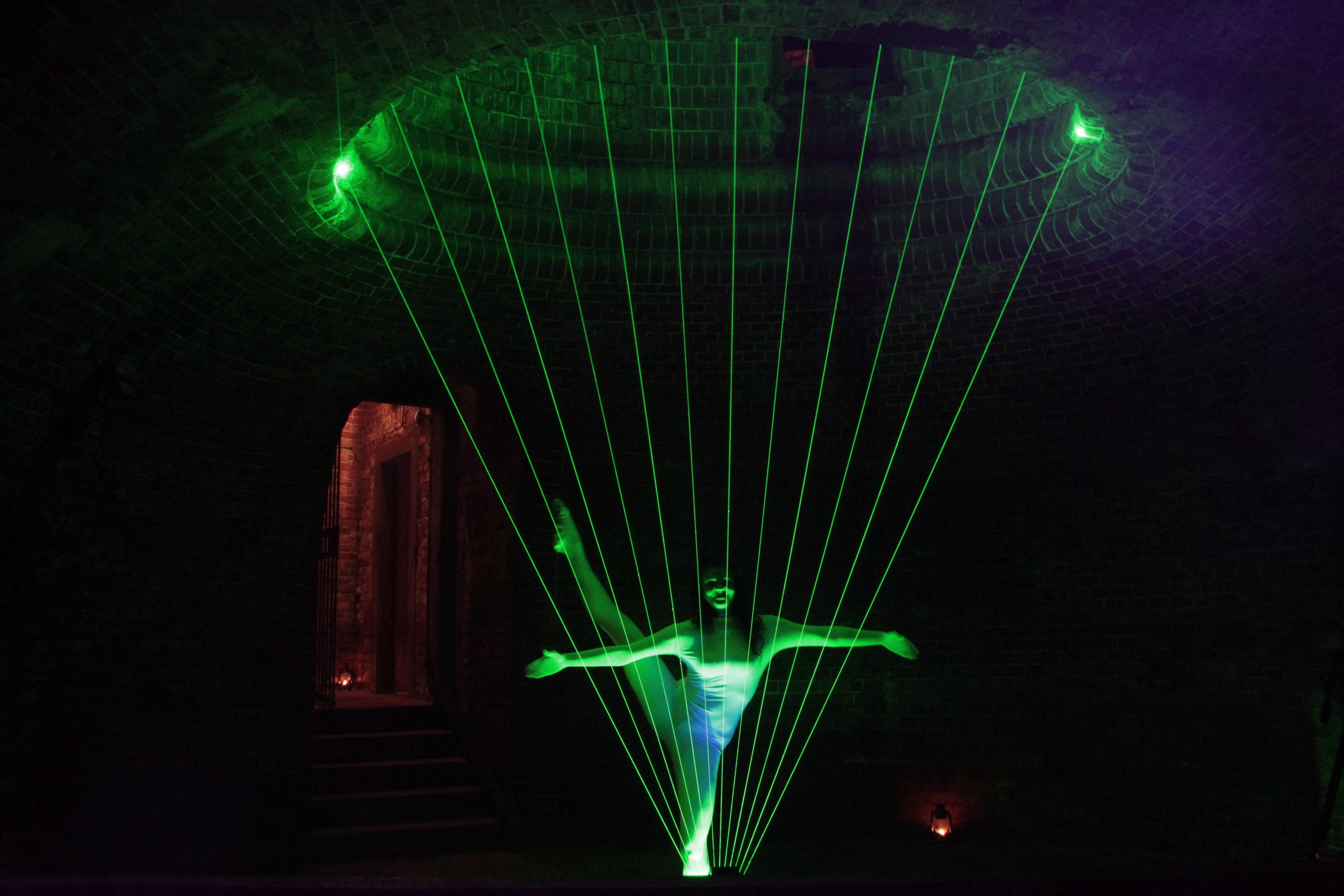 Laser Harph - vystoupení nebo aktivita od Event Interactive