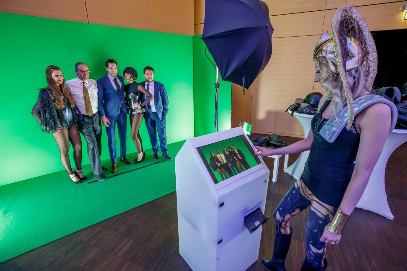 Mobilní klíčovací fotostudio od Event Interactive