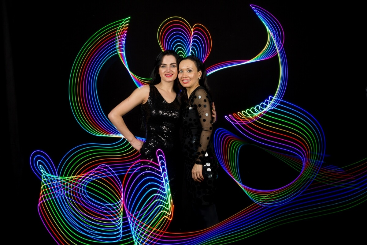 Led painting | eventinteractive cz