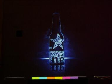 Laser Graffiti - modulární vizuální systém od Event Interactive