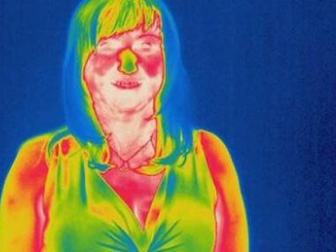 Infrakamera - fotoaparát pronikající pod kůži od Event Interactive