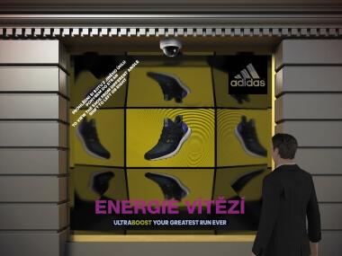 Speciální projekt - Adidas Boost | Event Interactive